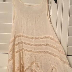 Free People off-white dress!